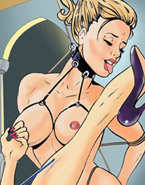 Big muscular gangster fucking badly poor rapunzel in doggy style in dirty porn toon